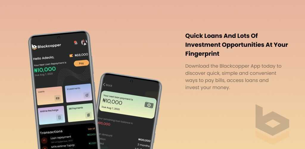 Blackcopper Loan App [2021]- How To Apply, Repay, Interest rate, Contacts.