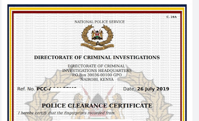 How To Check If Certificate Of Good Conduct Is Ready