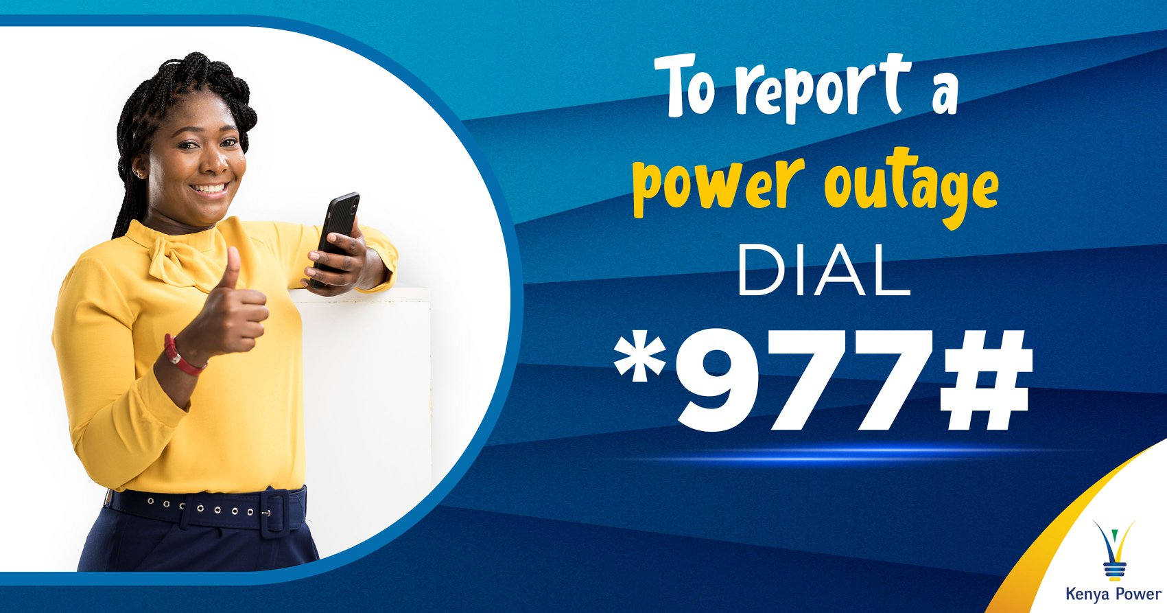 How To Report Power Outage Via *977#